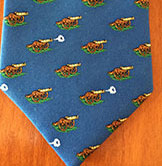 Customized tie by Barnard-Maine, Ltd.