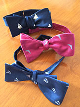 Custom Logo bowties by Barnard-Maine, Ltd.