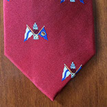 Custom logo tie by Barnard-Maine, Ltd.