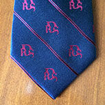 Custom designed tie by Barnard-Maine, Ltd.