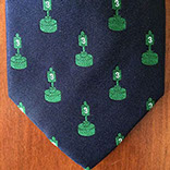 Custom tie by Barnard-Maine, Ltd.